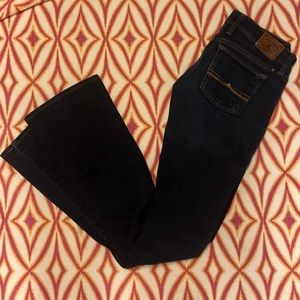 Lucky Brand Jeans - Lucky Brand Dark Wash Charlie Baby Boot Jeans-24